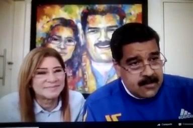 Mujer Insultó A Maduro Durante Una Transmisión En Vivo