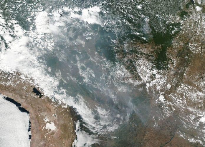 Amazonía: el corazón de Sudamérica se quema a ritmo récord