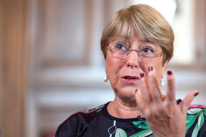 Michelle Bachelet sobre sanciones de Estados Unidos contra Venezuela