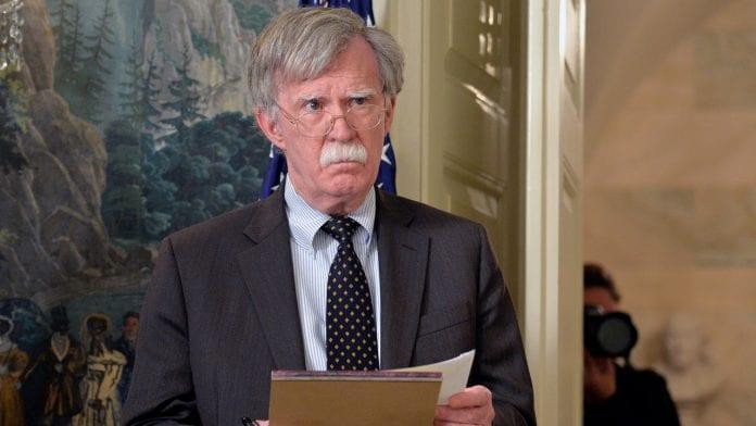 John Bolton asesor de Seguridad Nacional de la Casa Blanca, fue despedido