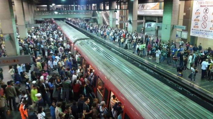 Metro de Caracas- tren