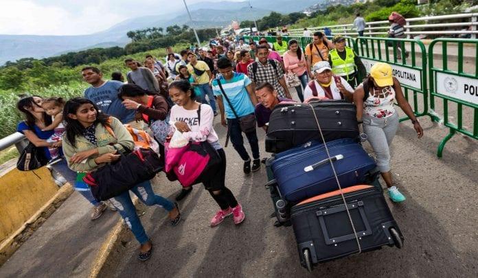 Refugiados Venezolanos- venezolanos en Colombia