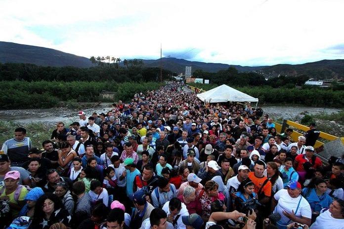 éxodo, cifra de migrantes venezolanos