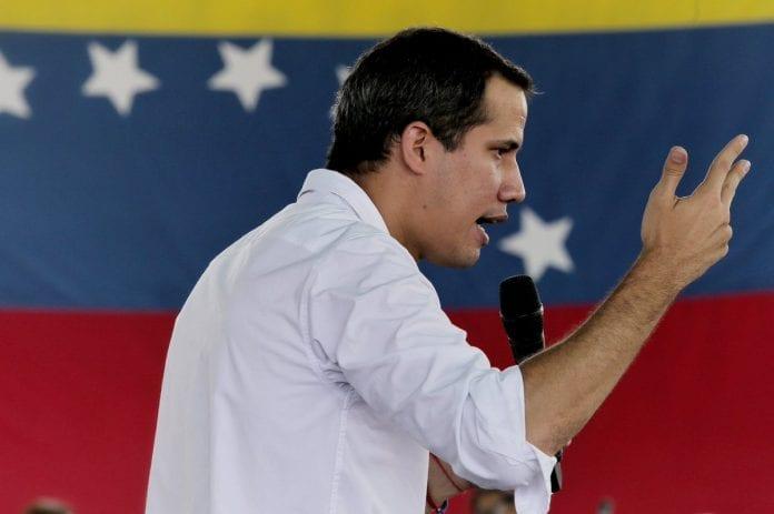 Juan Guaidó, marcha del 16N