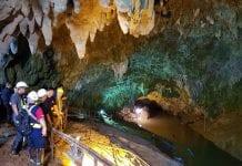 cueva Tailandia atracción turística