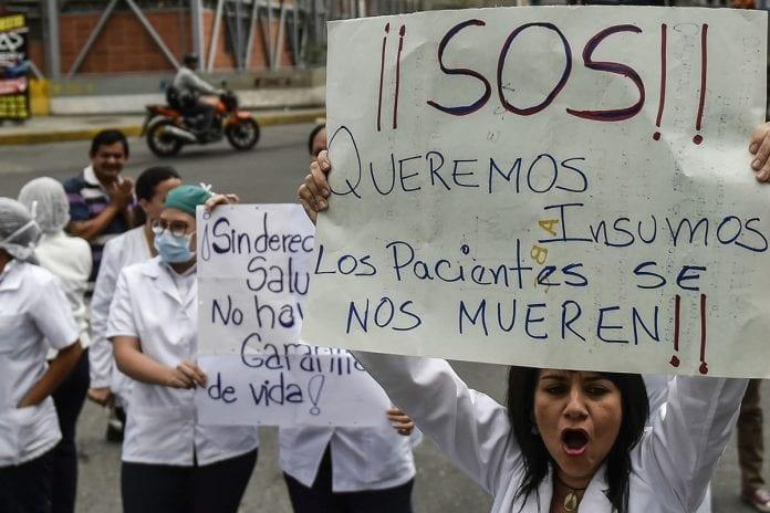 enfermeras venezolanas-profesores-trabajadores de