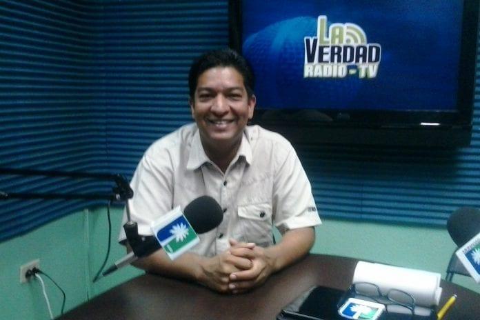 Nelson Luis López, alcalde de Caripito