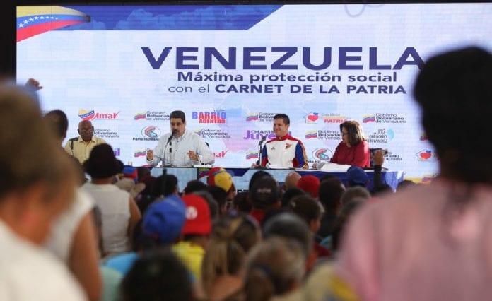 Maduro a Guaidó