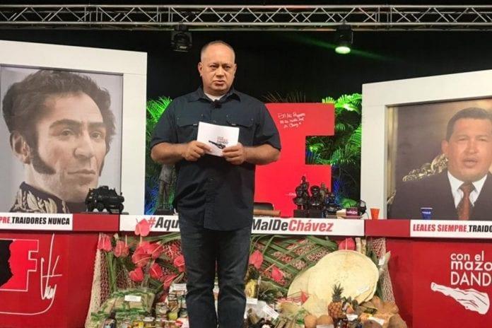Diosdado Cabello, Aída Merlano, furia bolivariana