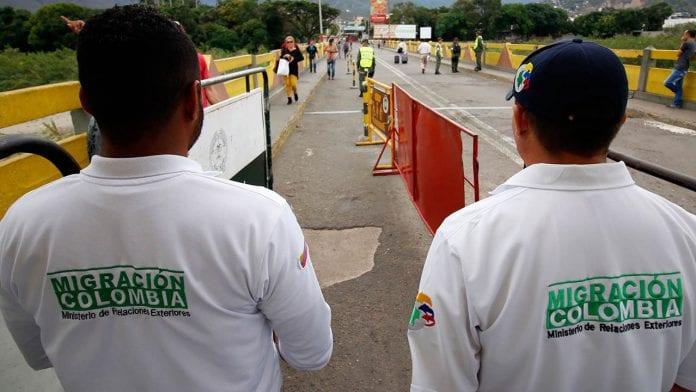 Migración Colombia siete rateros