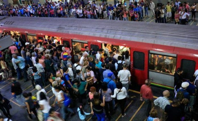 Metro de Caracas-Coronavirus
