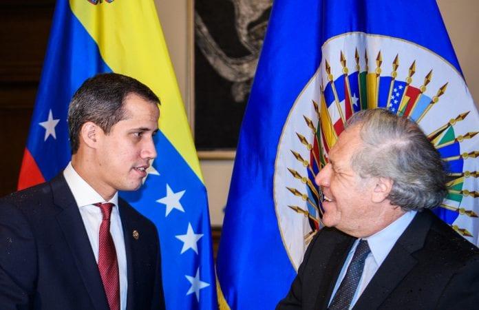 Juan Guaidó aseguró que la OEA continuará presionando por la libertad de los venezolanos