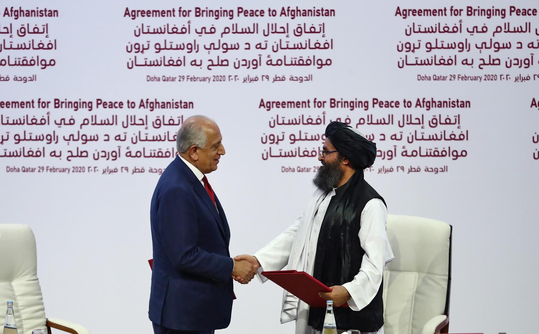 acuerdo afganistán