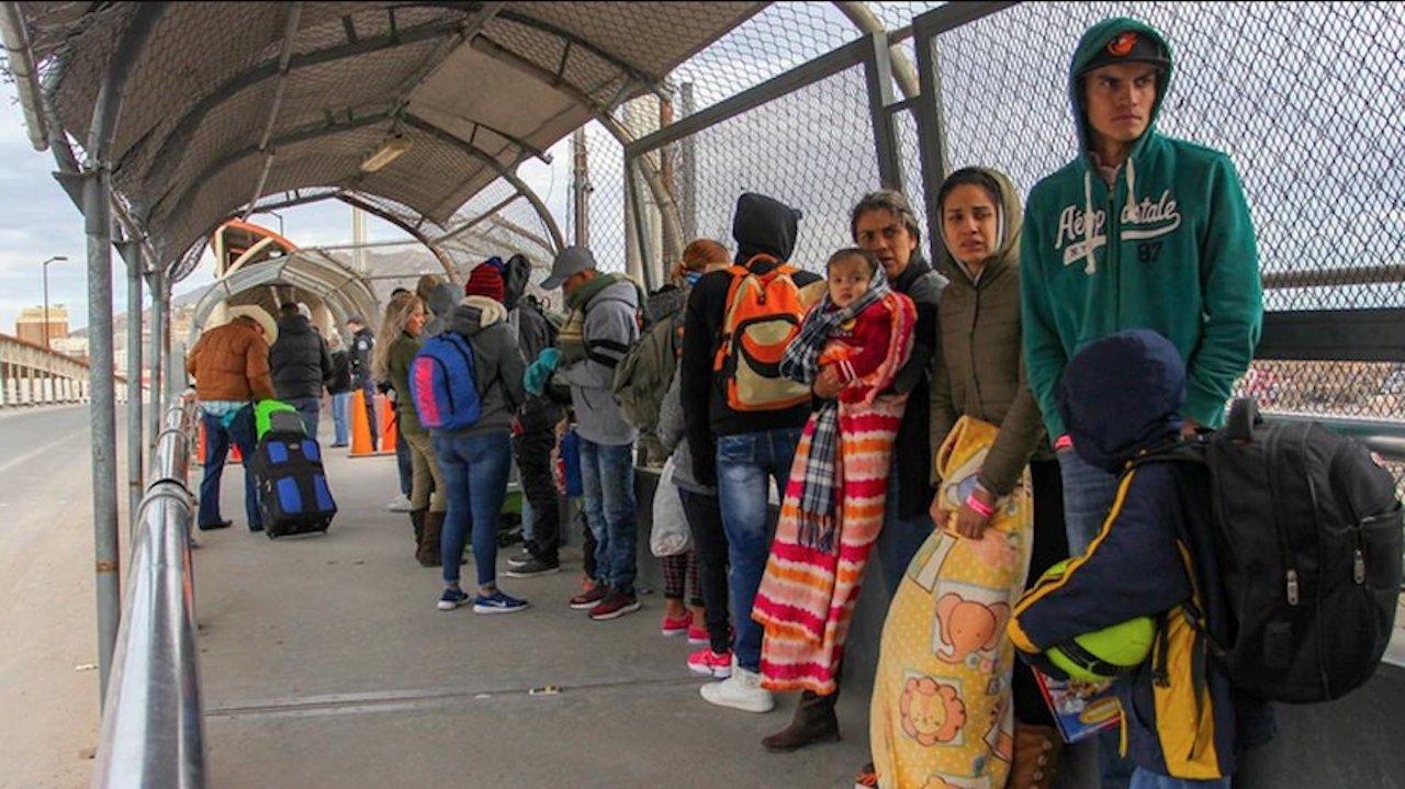 850 venezolanos se encuentran detenidos en Estados Unidos por pedir asilo  en la frontera
