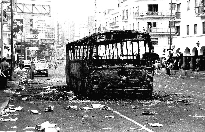 El Caracazo: las imágenes más impactantes que divulgó El Nacional
