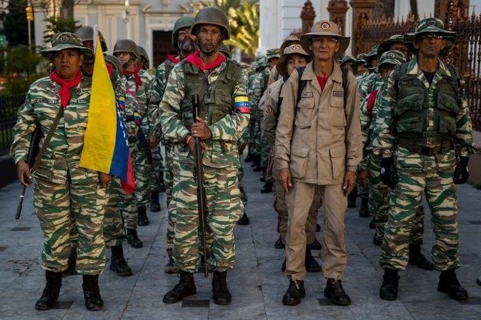 ejercicios militares - milicia