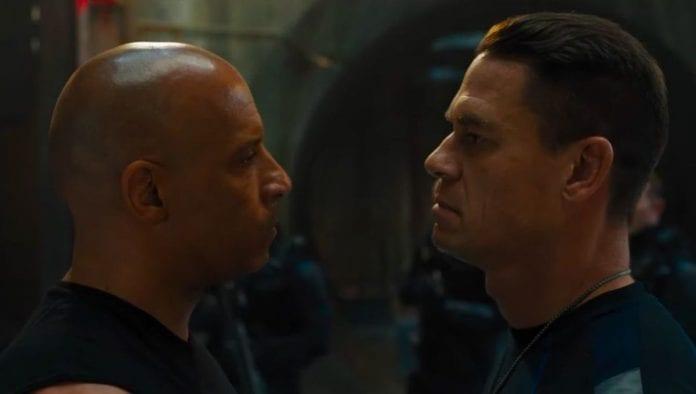 Rápidos y furiosos Jonn Cena y Vin Diesel