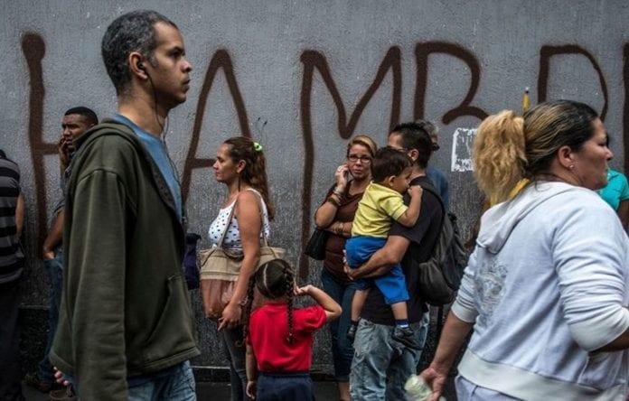 Hambre en Venezuela, Maracaibo, Zulia