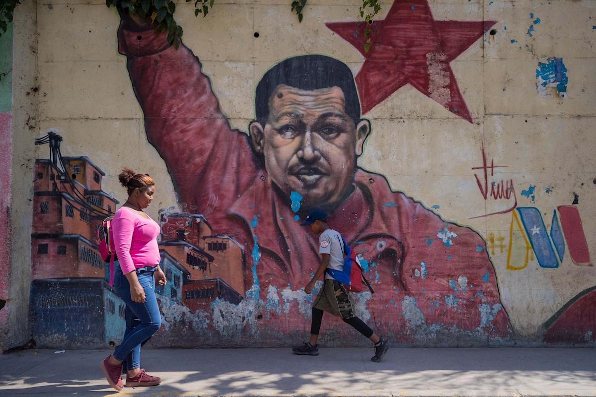 Líder de la revolución bolivariana