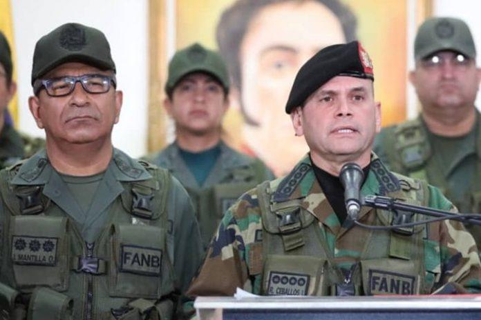 militares, Remigio Ceballos rechazó acusaciones contra Padrino López
