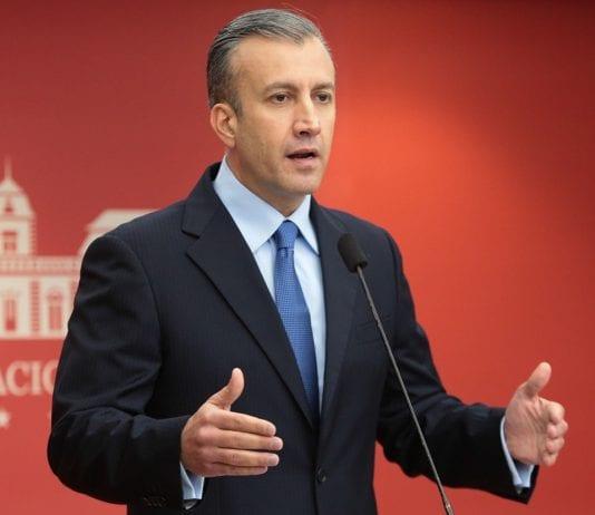 "Tareck El Aissami afirma que Venezuela va hacia ""crecimiento gradual"""