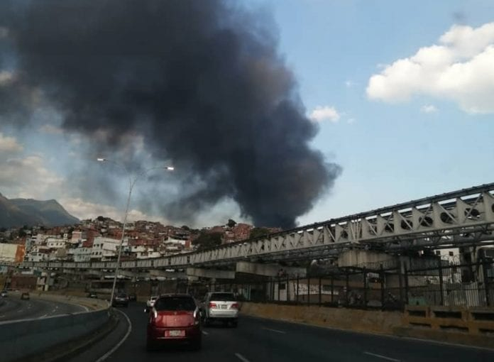 incendio de gran magnitud