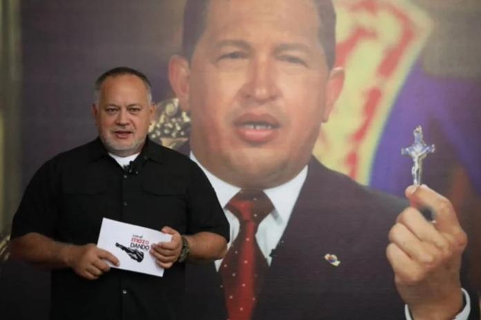 Diosdado Cabello Cliver alcalá desaparecido, titulos