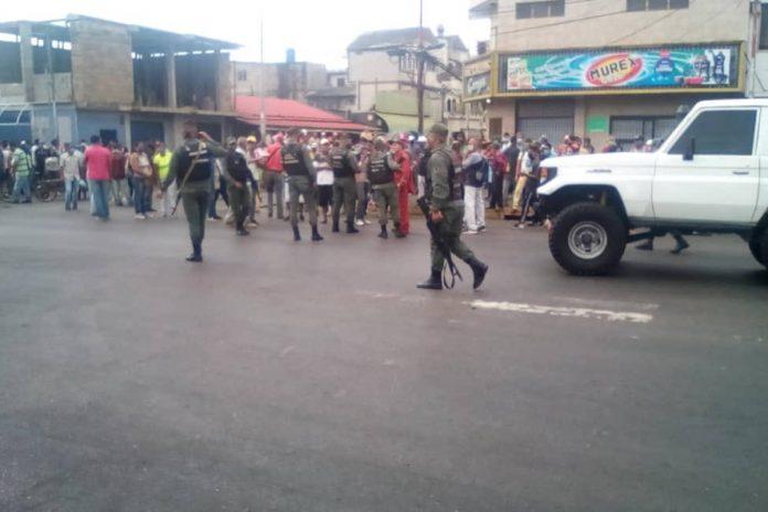 Disturbios en Punta de Mata precios alimentos
