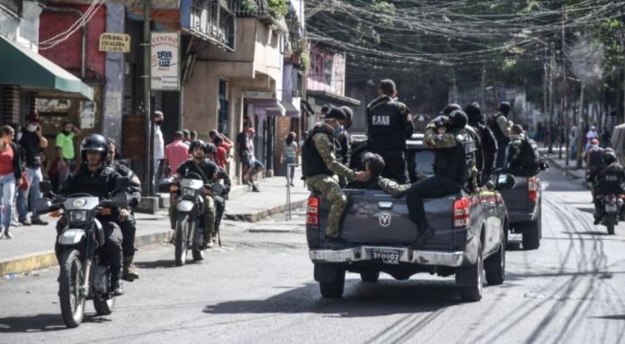 33 detenidos durante el operativo policial en Petare