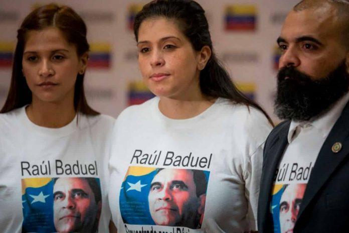 Hijos de Raúl Baduel Andreína Baduel