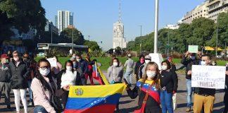 venezolanos varados en Argentina