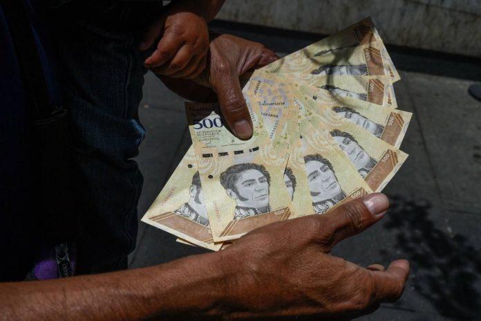 efectivo en Venezuela cuarentena