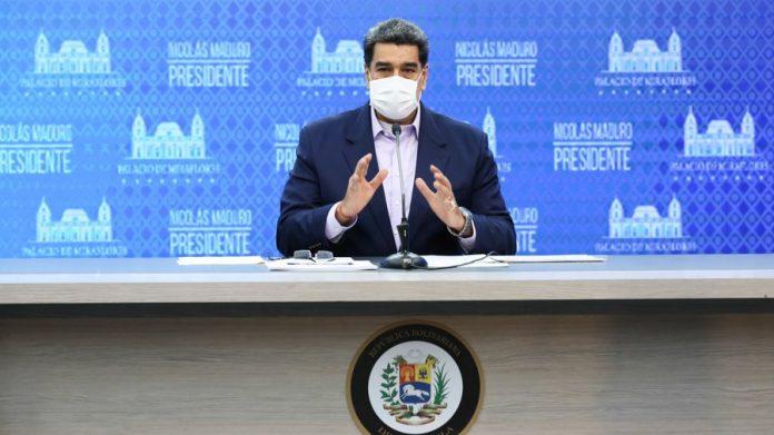 Maduro, cuarentena