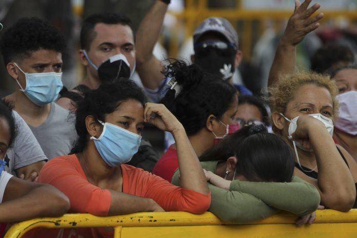 Migrantes venezolanos en Cali, pandemia