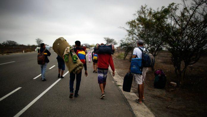 Migrantes venezolanos Eduardo Stein