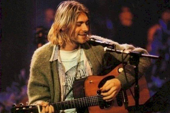 Kurt Cobain en MTV Unplugged