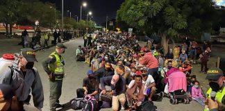 venezolanos sufren hambruna refugiados