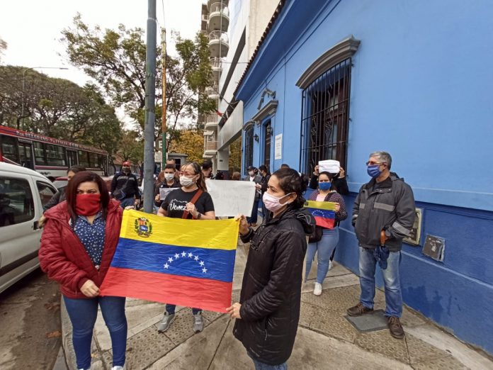 Venezolanos Argentina