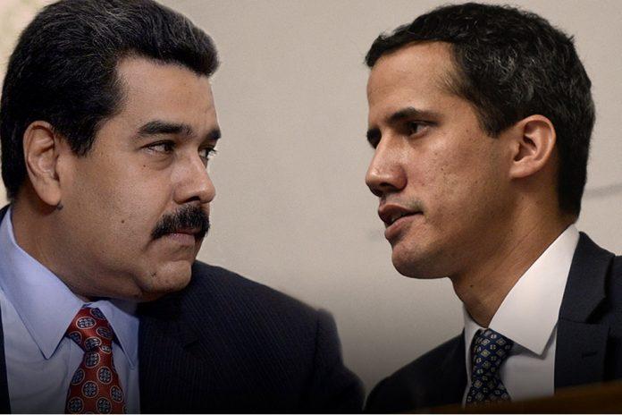Maduro y Guaidó sanciones