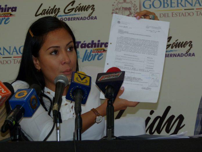 Gobernación del Táchira se declaró en emergencia presupuestaria