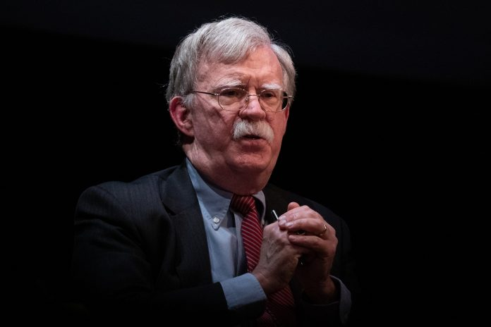 John Bolton trump maduro Casa Blanca