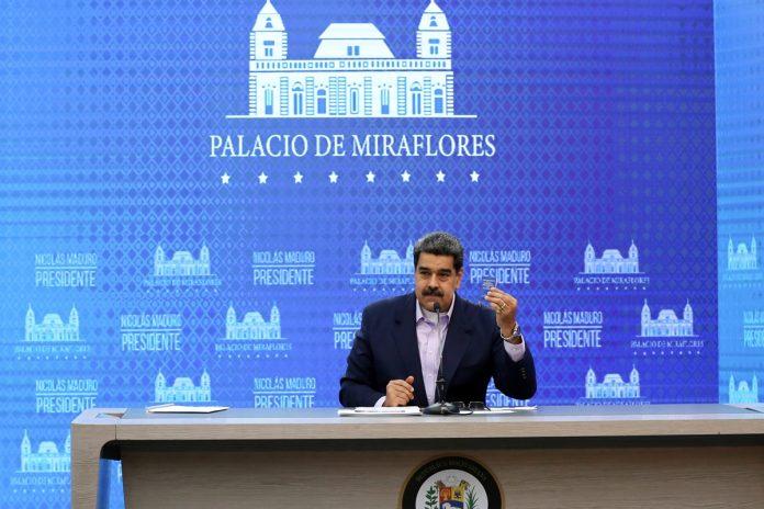 Maduro dijo que los medios mienten sobre su CNE y que hay que fortalecer las