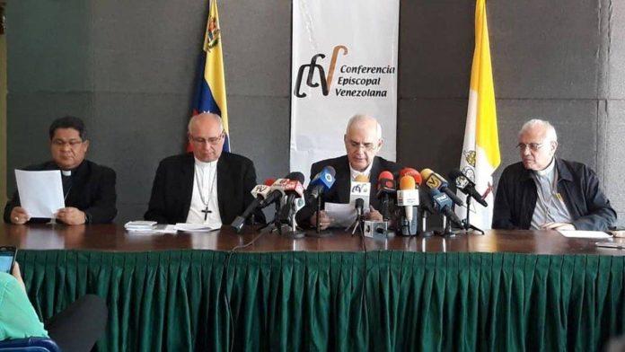 Conferencia Episcopal Venezolana exigió elecciones libres y democráticas para construir un nuevo gobierno
