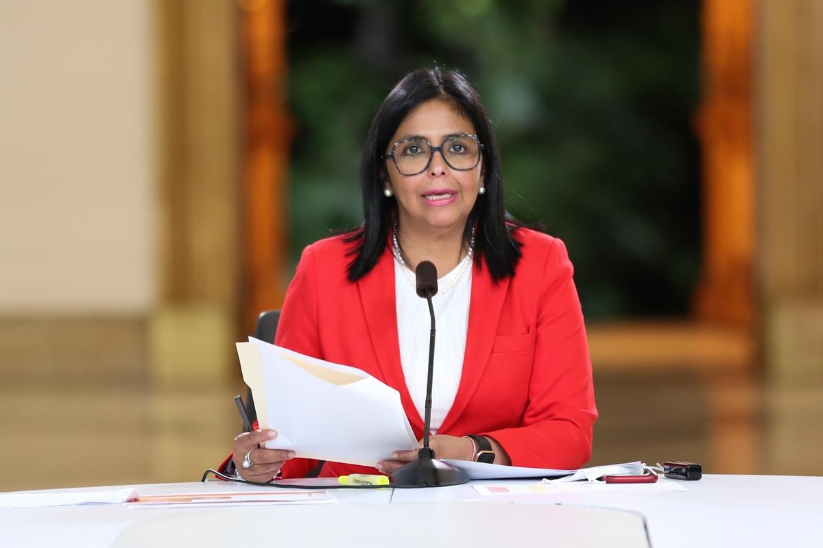 Delcy Rodríguez reportó 242 nuevos casos de covid-19