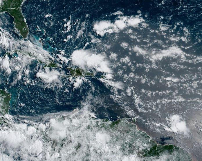 Gonzalo disminuyó la fuerza de los vientos degradándose a depresión tropical