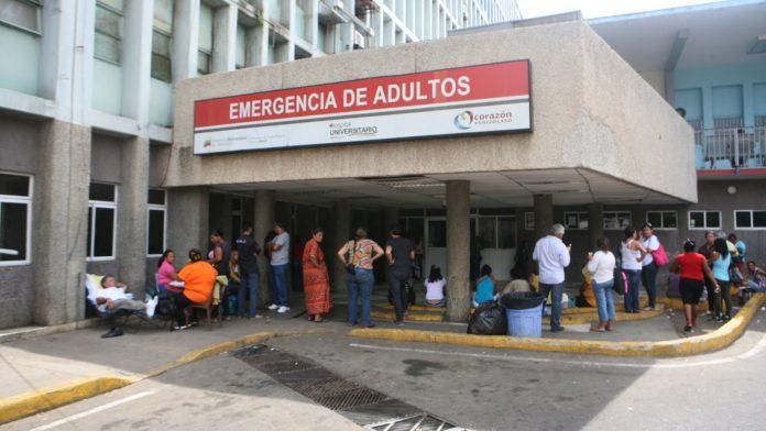 Hospital Universitario de Maracaibo solo cuenta con 14 camas en la unidad de cuidados intensivos