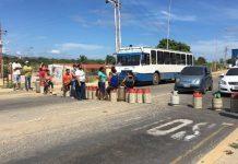 Habitantes de la comunidad Ezequiel Zamora en Cumaná protestaron por falta de gas doméstico