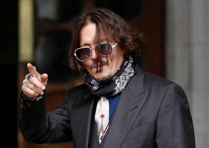 Johnny Depp defensa
