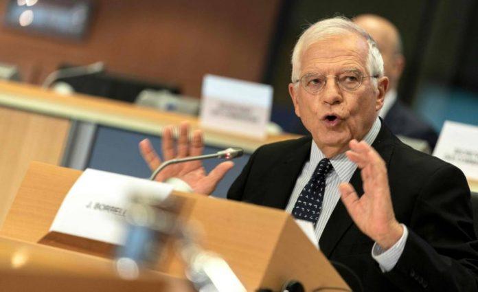 UE-Josep Borrell, Venezuela
