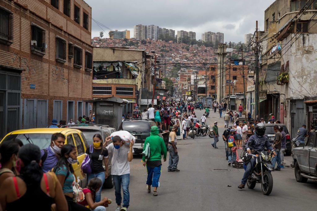 Covid en Caracas Catia- flexibilización